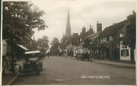 Real photo Solihull high street