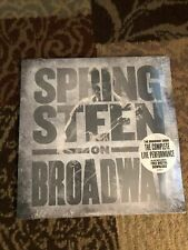 BRUCE SPRINGSTEEN On Broadway VINYL 4xLP Sealed Complete Live Performance