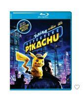 POKEMON Detective Pikachu BLURAY Disc & DVD ONLY, NO DIGITAL Ryan REYNOLDS Smith