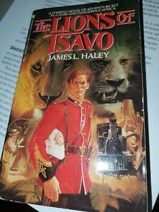 The Lions Of Tsavo By James Haley Paperback