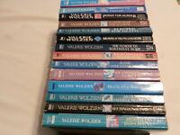 FOURTEEN (14) VALERIE WOLZIEN paperbacks 11 in Susan Henshaw and 3 in Josie