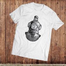 Diving Bell T-Shirt, Victorian, 18th century divers helmet, Illustration Tee