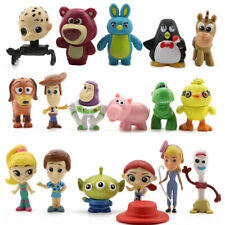 Toy Story 4 Set of 17 PVC Mini Figures Doll Woody Jessie Forky Ducky Bunny Decor