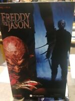 Sideshow Collectibles Freddy Vs Jason 1/6 Scale Freddy Krueger Figure Boxed Vgc