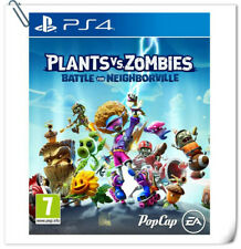 PS4 PLANTS VS. ZOMBIES 3: BATTLE FOR NEIGHBORVILLE Sony Electronic Arts Tactical
