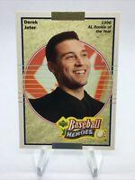 Derek Jeter 2004 Upper Deck Baseball Heroes 1996 Rookie of the Year #93 Yankees