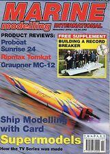 Marine Modelling International Magazine: Nov 02: Proboat: Sunrise 24