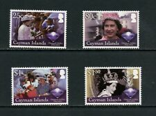 U689  Cayman Islands 2012  QEII   4v.    MNH