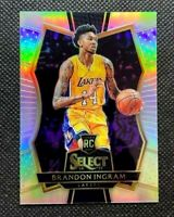 2016-17 Panini Select Brandon Ingram Silver Prizm Rookie RC SP Pelicans