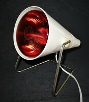 vintage 1970 - lampe chauffante philips infraphil rouge