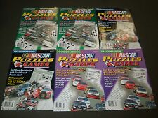 NASCAR PUZZLE GAMES MAGAZINE LOT OF 10 - VOLUME NO. 2-5 - NICE PHOTOS - O 554