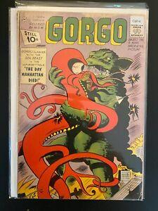 Gorgo 5 Lower Grade Charlton Comic Book CL87-4