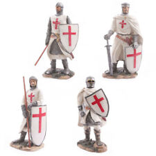 Knight Figurine Middle Ages Statue Hand Painted Historical Novelty Figure Gifts