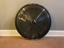 Hed Jet Black Carbon Disc Wheel Rim brake Shimano 9/10/11spd - Clincher w tire