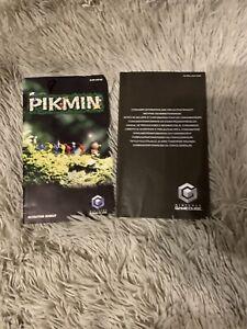 Pikmin Gamecube Manual Booklet