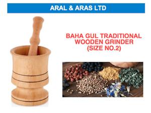 ✅ TRADITIONAL Turkish *Wooden Grinder* / Pestle and Mortar Set ✅