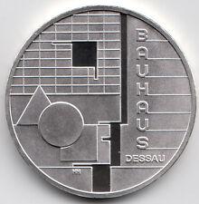 10 Euro Gedenkmünze Bauhaus Dessau 2004 Polierte Platte Silber 925/-