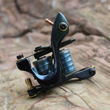 tattoo machine gun set shader 10 wrap coils handmade cast iron frame for supply