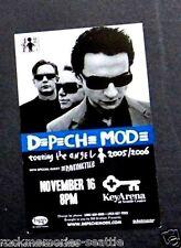 Depeche Mode Lot Sticker , Concert Card and Promo Post Card