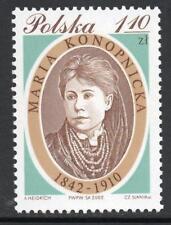 POLAND MNH 2002 SG3995 160th Birth Anniversary of Maria Konopnicka