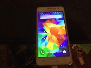 Samsung Galaxy Grand Prime - White Cricket For parts or repair. no sim card