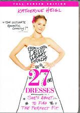 27 DRESSES ~ DVD ~ NEW