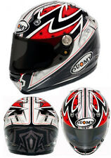 CASCO INTEGRALE MOTO SUOMY VANDAL PATTERN RED HELMET MOTO STRADA