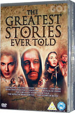 Greatest Stories Boxset Collection 8 DVD Bible Films Passion Of The Christ - New