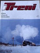 I Treni 45 1984 Roma Nomentano - Viaggio da Foggia a reggio Calabria