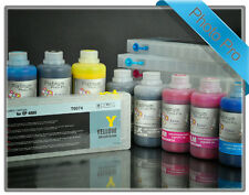 Refillable Kit for Epson pro 4800 T6061 -T6069 cartridges with PIGMENT INKS