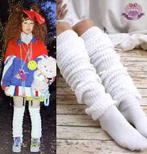 JAPAN HIGH SCHOOL BUBBLE  LOOSE SOCKS 120CM White Leg Warmer