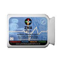 ZMA 1000MG PER CAP X 90-TESTOSTERONE-BOOSTER-ANABOLIC-MAGNESIUM-B6- ZINC MUSCLE