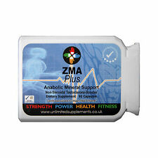 ZMA 1000MG PER CAP X 90-TESTOSTERONE-BOOSTER-ANABOLIC-MAGNESIUM-MUSCLE MASS