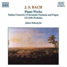 Janos Sebestyen, J.S - 12 Little Preludes / Italian Concerto [New CD]