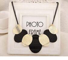 Fashion Chain Pendant Women Crystal Choker Statement Chunky Bib Necklace Jewelry