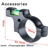 New Alloy Pistol Airsoft Scope Bubble  Level For 30mm Ring Mount Bracket Black