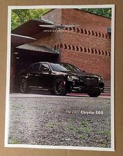 2017 Chrysler 300 46-page Original Sales Brochure Catalog NEW