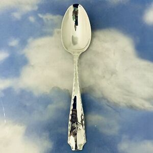 """MARQUISE BY TIFFANY  Co.  STERLING SILVER SERVING SPOON 8-1/2"""" MONO H-GRADE"""