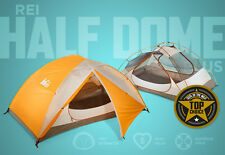 REI Co-Op Half Dome 2 Two Person Tent Backpacking Camping 2016 Model • NO POLES