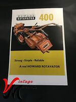 Howard 400 - Rotavator / Rotovator - Brochure - A4 (L102)