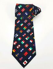 "World Flag Ties Countries Necktie United Nations Mens Neck Tie ""Gabelli"""