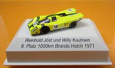 Brekina 16015 Porsche 917K 10 Team Auto Usdau 1000km Brands Hatch 1971 Jöst 1 87