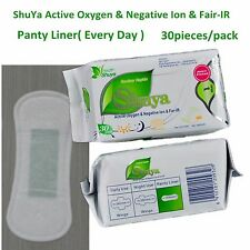 5 Packs Organic Cotton Natural Panty Liners Anion Active oxygen 30 Liner(s)