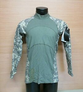 US Military Issue ACU Camouflage MASSIF Army Combat Shirt ACS FR Size Medium