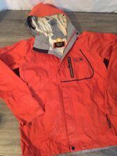Mens Mountain Hardwear Conduit Silk Orange Jacket Sz Small