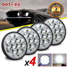 "4pcs Projector 5.75'' 5-3/4"" inch led headlights Sealed Hi-Lo Beam for ford LTD"