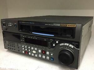 Sony DVW-M2000P PAL Digital Betacam VTR Videocassette Recorder SP SX MPEG IMX