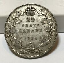 1936 25 Cents