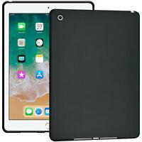 Tablet Case für iPad Air 2015 Hülle Silikon Schale Tasche Cover Matt Schwarz