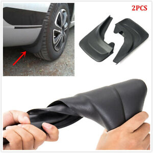"Car Front Rear Universal ABS Plastic Mud Flaps Splash Guards Fender 14.17 ""x9.45"
